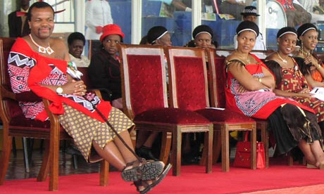 King-Mswati-III-wives