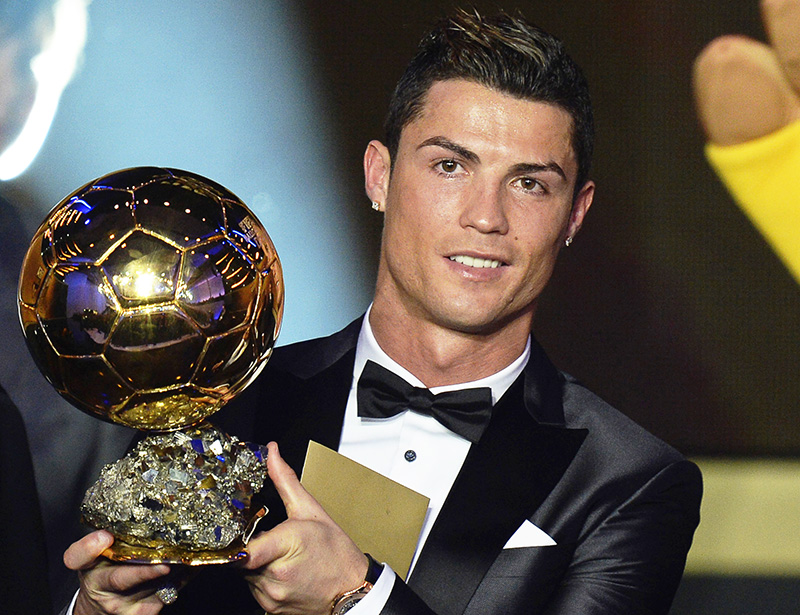 Cristiano Ronaldo FIFA Ballon d'Or awards