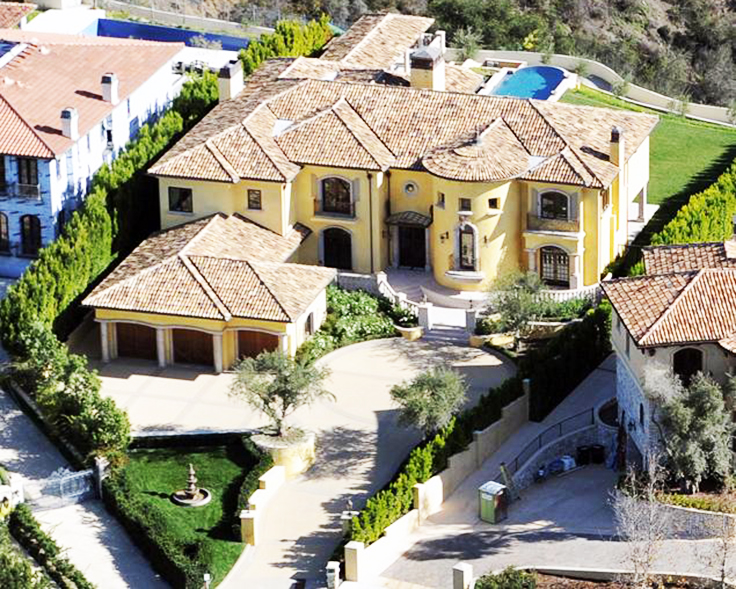Kim Kardashian and Kanye West Mansion
