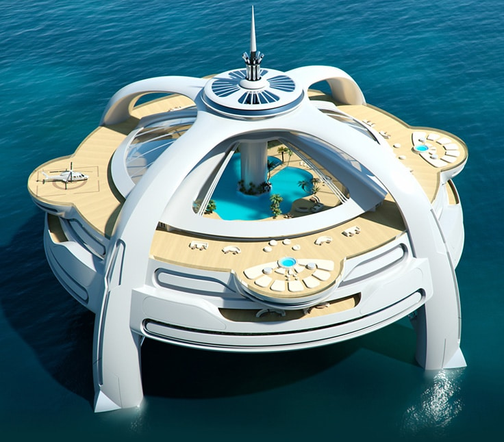 Έργο-ουτοπία-Yacht-Νησί