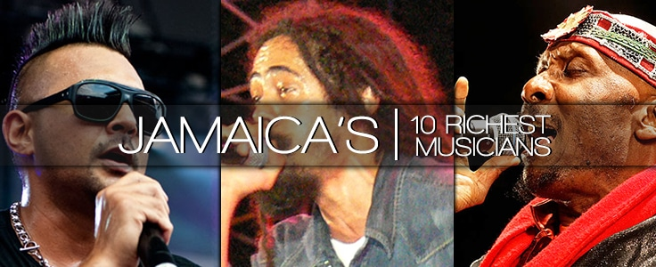 Top 10 Richest Reggae/Dancehall Artists ALIVE as of ...