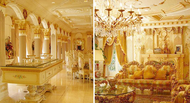 Superbe Shahrukh Khan House Pictures From Inside