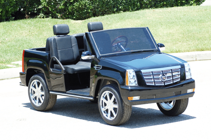 Used escalade golf cart autos post for Mercedes benz garia golf cart price