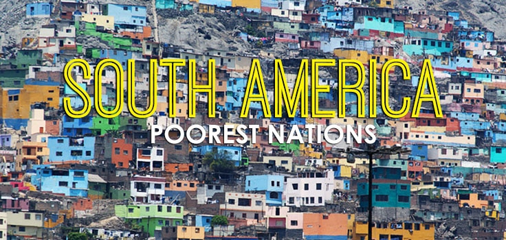 Poorest Countries In South America Guyana Guyana News And - Where is the poorest country