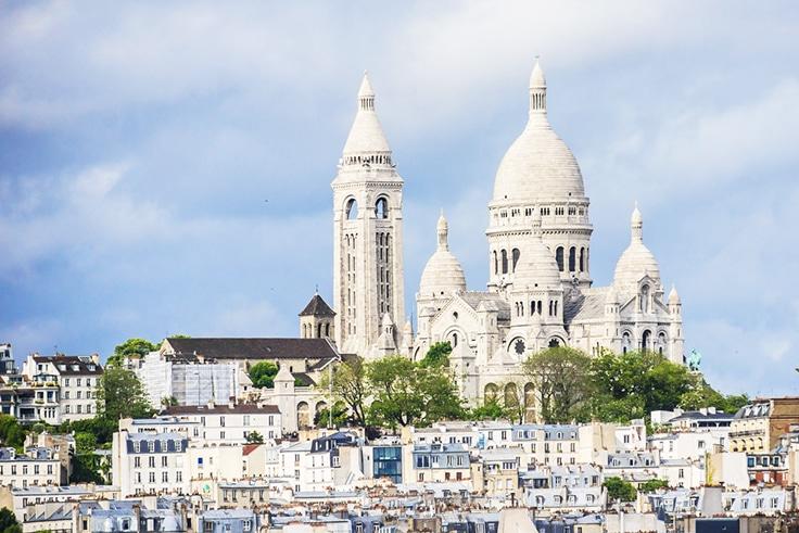 Εκκλησία Sacre-Coeur καθεδρικό ναό-Montmartre-Παρίσι-Γαλλία