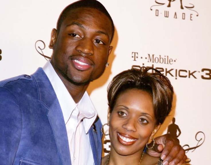 Dwyane Wade and Siohvaughn Funches