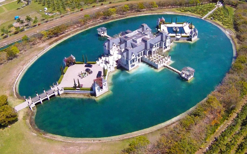 Charles Sieger's Castle 'Château Artisan' (Miami)