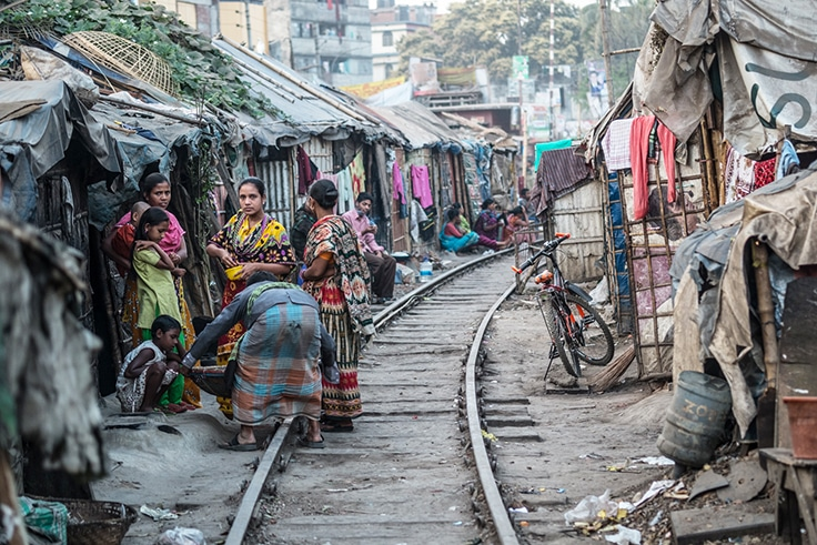 Bangladesh-Slum-Poverty