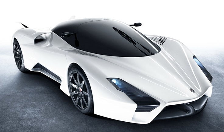 Top 20 Fastest Cars in the World 2015