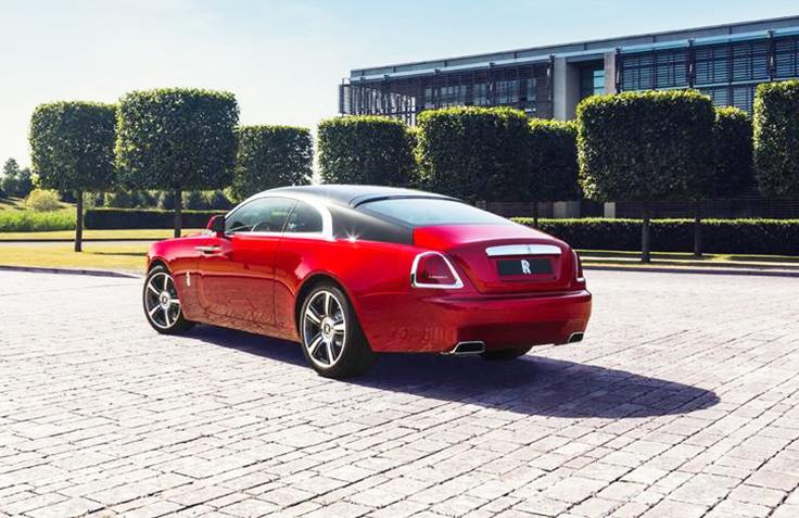 2014-Rolls-Royce-Wraith-Back