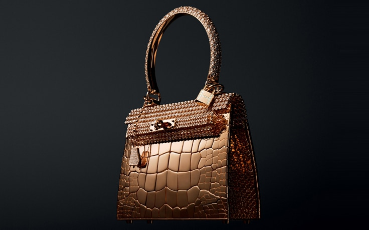 Hermes-Rose-Gold-Crocodile-Bag
