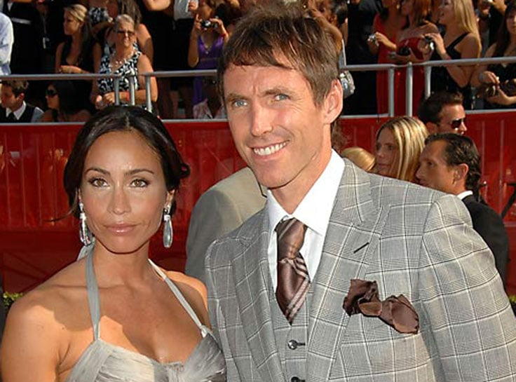 Steve Nash and Alejandra Amarilla
