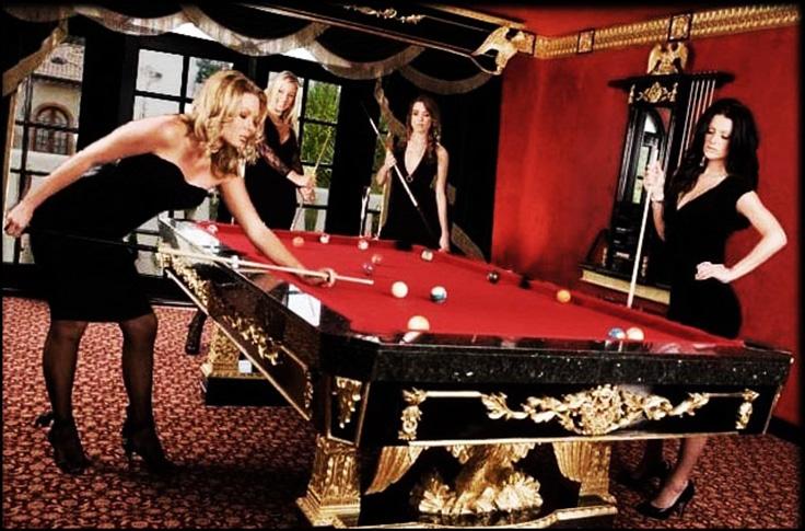 Dominic Gerard Eagle Billiard Table