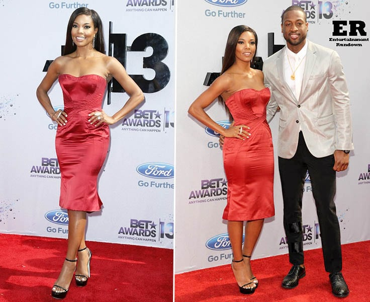 Gabrielle Union, Dwyane Wade at the 2013 BET Awards