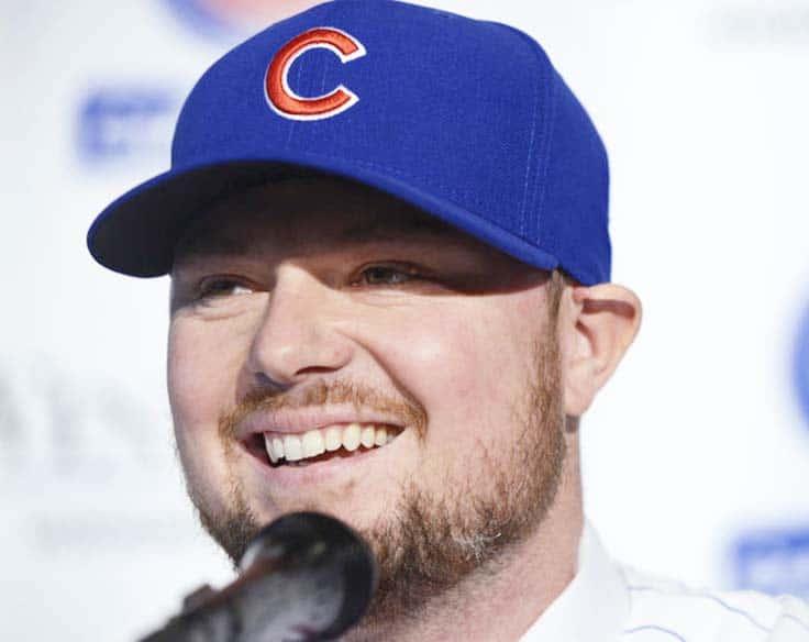 Jon Lester Chicago Cubs