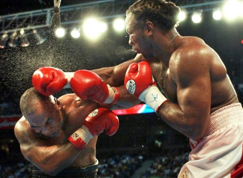 Mike Tyson vs. Lennox Lewis