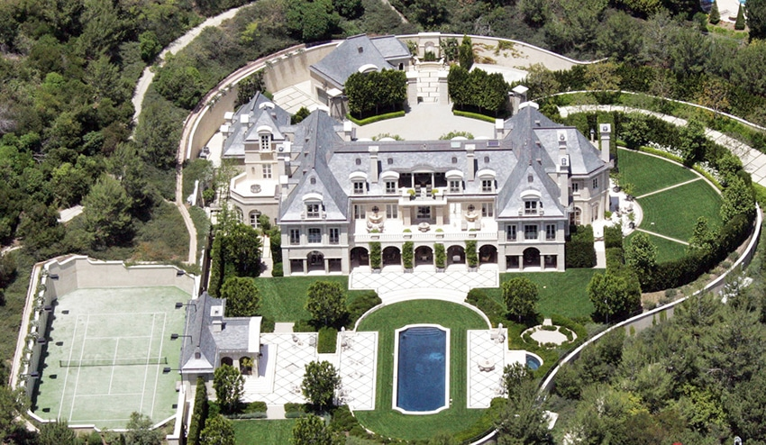 Homes of African American Celebrities