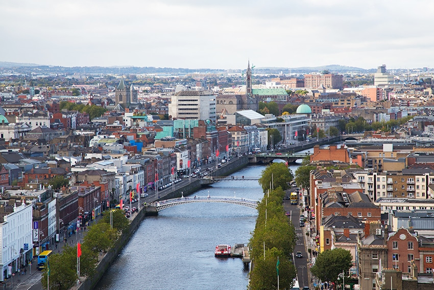 Dublin Skyline, Ireland